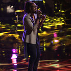 "THE VOICE -- ""Playoffs"" -- Pictured: Delvin Choice -- (Photo by: Tyler Golden/NBC)"