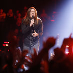 """THE VOICE -- """"Playoffs"""" -- Pictured: Stevie Jo  -- (Photo by: Trae Patton/NBC)"""