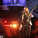 """THE VOICE -- """"Playoffs"""" -- Pictured: Bria Kelly  -- (Photo by: Trae Patton/NBC)"""