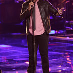 """THE VOICE -- """"Playoffs"""" -- Pictured: T.J. Wilkins -- (Photo by: Tyler Golden/NBC)"""