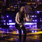 """THE VOICE -- """"Playoffs"""" -- Pictured: Bria Kelly -- (Photo by: Tyler Golden/NBC)"""