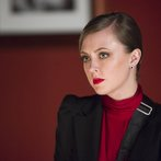 "HANNIBAL -- ""Su-zakana"" Episode 208 -- Pictured: Katharine Isabelle as Margot Verger -- (Photo by: Brooke Palmer/NBC)"