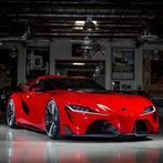The Toyota FT-1 concept is a pure performance, track-focused sports car model created by CALTY Design Research, Toyota's North American Design branch.