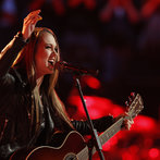 """THE VOICE -- """"Live Show"""" -- Pictured: Bria Kelly  -- (Photo by: Trae Patton/NBC)"""