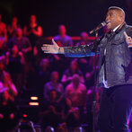 """THE VOICE -- """"Live Show"""" -- Pictured: T.J. Wilkins -- (Photo by: Trae Patton/NBC)"""