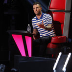 "THE VOICE -- ""Live Show"" -- Pictured: Adam Levine -- (Photo by: Trae Patton/NBC)"