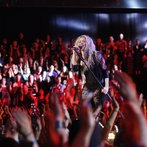 """THE VOICE -- """"Live Show"""" -- Pictured:  Shakira -- (Photo by: Trae Patton/NBC)"""