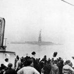 Arriving of immigrants in Ellis Island, New York, c. 1905