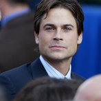Actor Rob Lowe mingles among invited gue