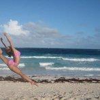 Bahamas Beach Leap :)