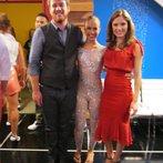 Eric and Olivia w/ Me :)
