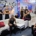 The Boys Relaxing In The Americas Got Talent Lounge