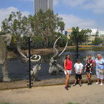 our trip to LeBrea tar pits