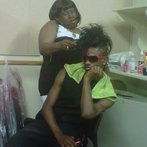PrinceAlonzo & our hairstyist