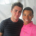 Myself & Dylan Andre! Isn't he dreamy!??!