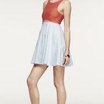 Amber's Mod Flare Dress
