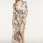 Johana's Sheer Maxi Dress