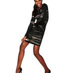 Daniel's BodyCon Dress - Slashed