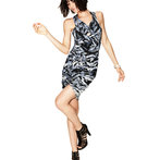 JesseRay & Garrett's Print Basketweave Bandage Dress