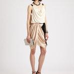 Silvia's Mini Draped Dress