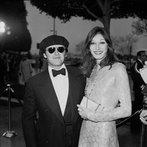 Jack Nicholson & Anjelica Huston At Oscars