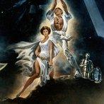 Poster for Star Wars, 1977, 20th Century Fox film. (detail).