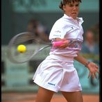 CAPRIATI USA FRENCH OPEN FOREHAND
