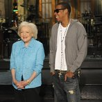 Betty White and Jay-Z