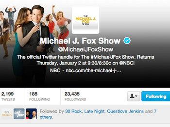 Follow The Michael J. Fox Show on Twitter!