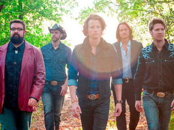 The Sing-Off - Home Free walking in the woods