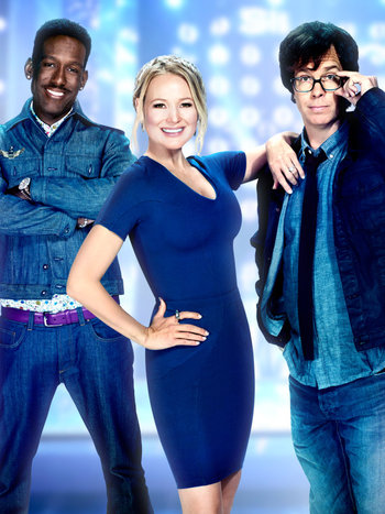 The Sing-Off - Ben Folds, Jewel, and Shawn Stockman