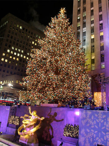 Christmas in Rock Center - Christmas Through the Years