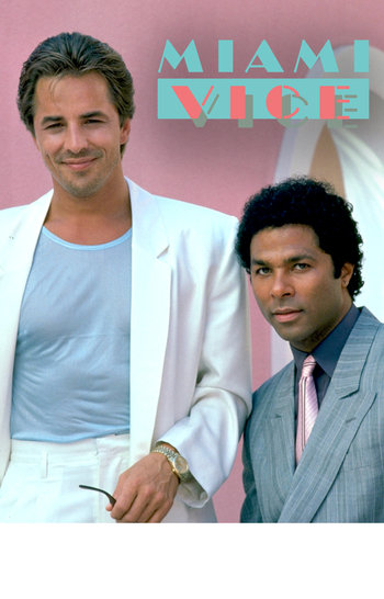 Miami Vice TV Show NBC Feature
