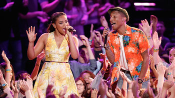 "Koryn Hawthorne and Pharrell: ""We Can Work It Out"""