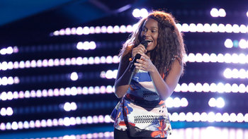 "Shalyah Fearing Blind Audition: ""What Is Love"""
