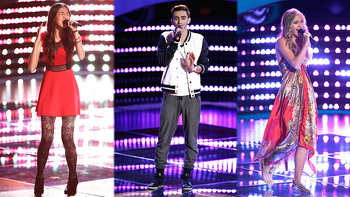 Blind Auditions: Lacy Mandigo,  Jonathan Bach, Katherine Ho