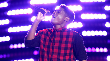 "Malik Heard Blind Audition: ""Chains"""