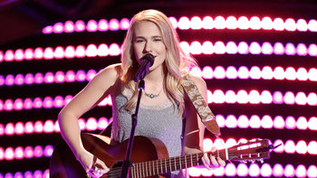 "Peyton Parker Blind Audition: ""Dreams"""