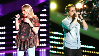 Blind Auditions: Gina Castanzo and Trey O'Dell
