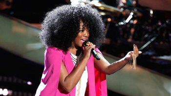"Tamar Davis Blind Audition: ""Chain of Fools"""