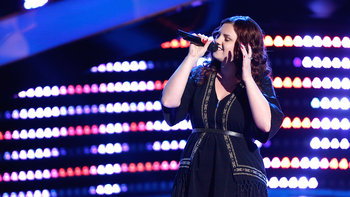 "Jessica Crosbie Blind Audition: ""Viva La Vida"""