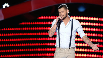 "Justin Whisnant Blind Audition: ""Ain't Worth the Whiskey"""