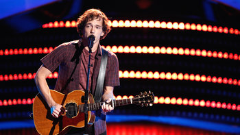 """Owen Danoff Blind Audition: """"Don't Think Twice, It's All Right"""""""