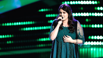 "Brittney Lawrence Blind Audition: ""Warrior"""