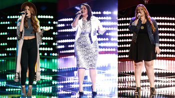 Blind Auditions: Teresa Guidry, Chelsea Gann, Lily Green