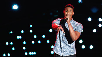 "Joe Maye Blind Audition: ""I Put a Spell on You"""