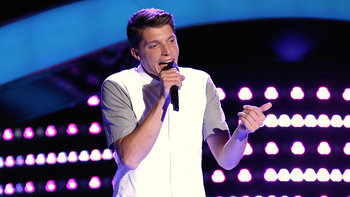 "Daniel Passino Blind Audition: ""Marvin Gaye"""