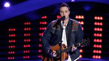 "Jared Harder Blind Audition: ""Merry Go 'Round"""