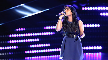 "Moushumi Blind Audition: ""Wicked Game"""
