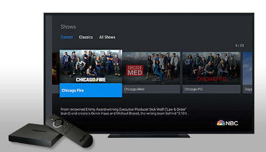 Download the NBC App for Amazon Fire TV